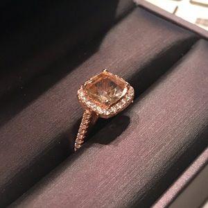 Jewelry - Cushion Cut Morganite Ring